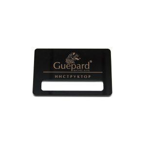 бейдж уф печать Guepard