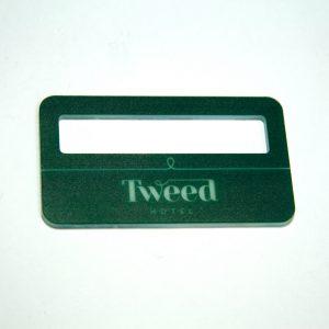 бейдж уф печать Tweed