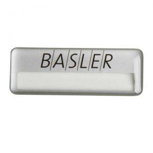 бейдж с полимерной заливкой Basler