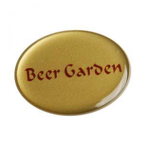 бейдж с полимерной заливкой Beer Garden