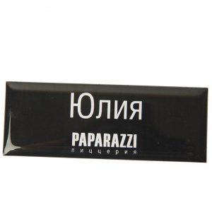 бейдж с полимерной заливкой Paparazzi 2