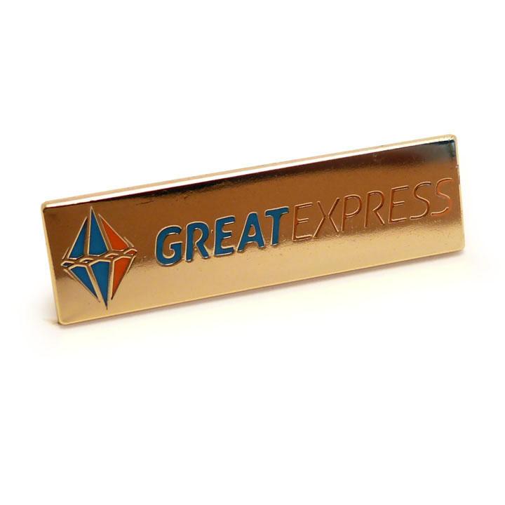 значок металлический штамповка эмали Greatexpress