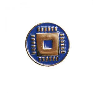 значок металлический штамповка эмали промэлектроника